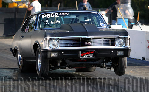 1970 Nova Back Half With 4130 Cage Build Up 171 Progas