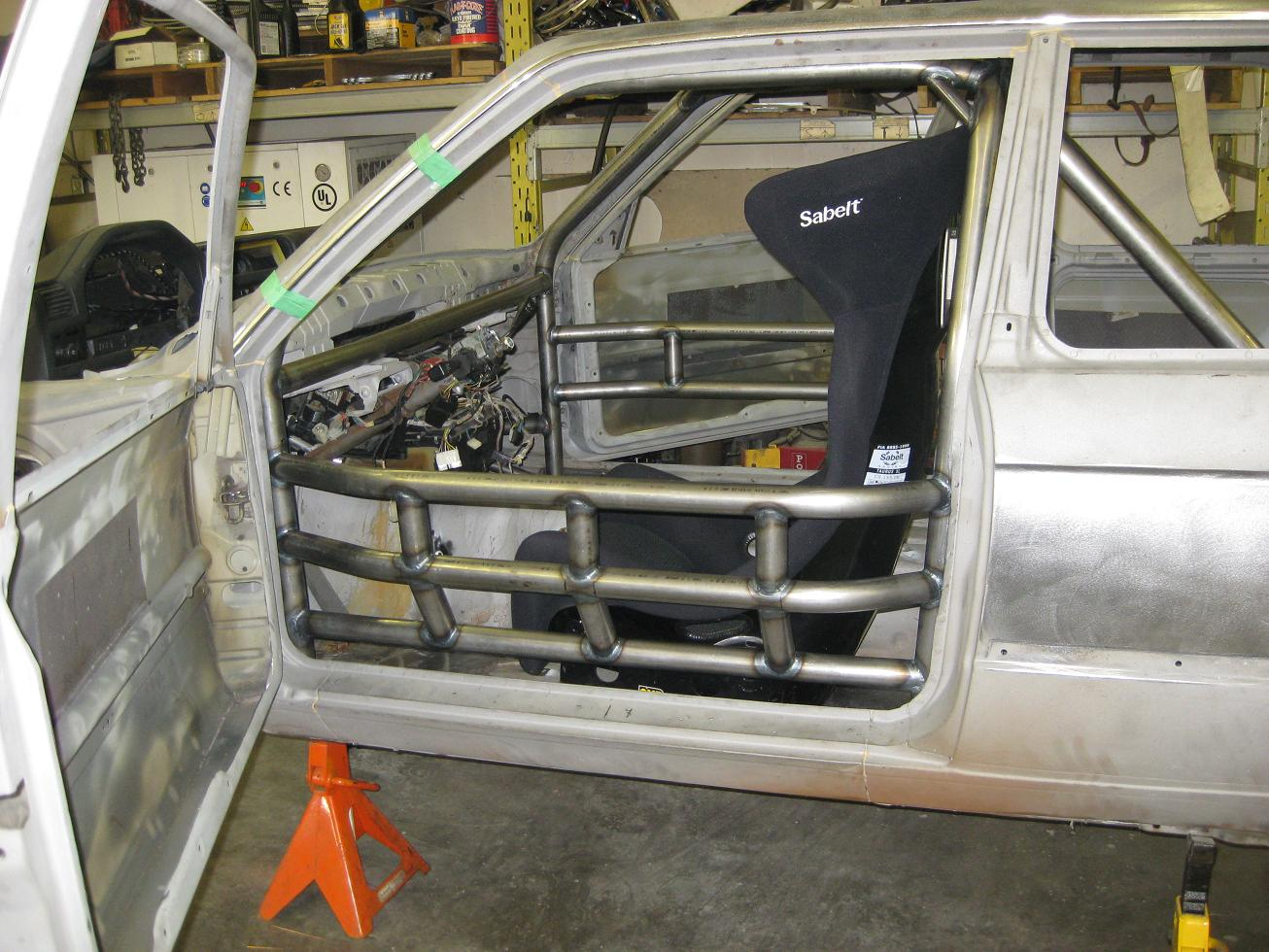 1985 Bmw 325 Roll Cage Icscc Pro 3 Class 171 Progas Engineering
