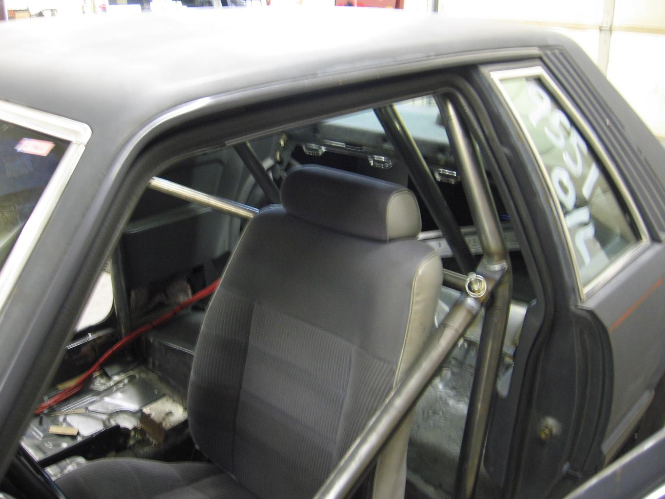 86 5 0 Mustang 6 Pt Roll Bar Driver Side Swingout 171 Progas