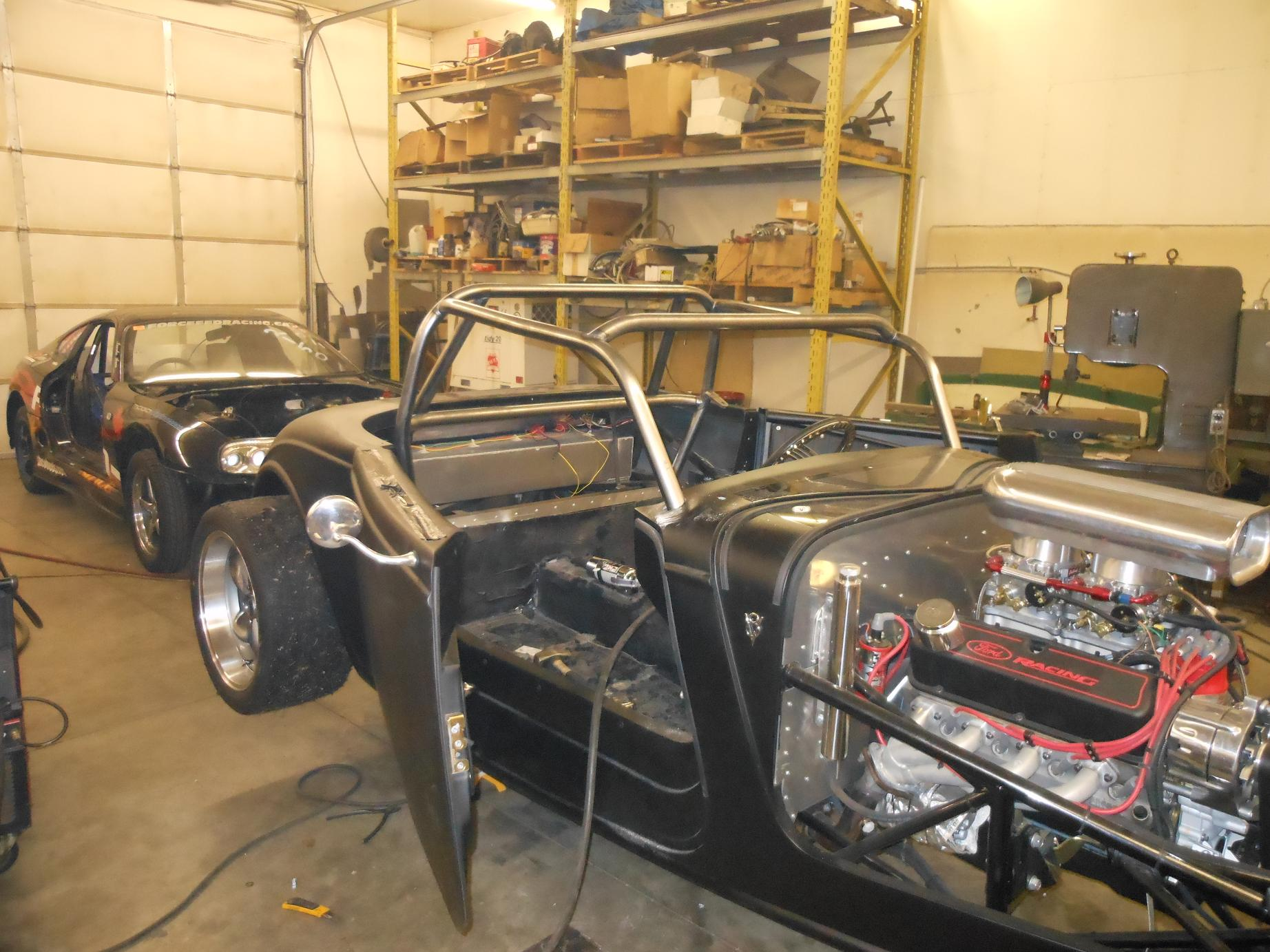 33 Factory 5 Roll Cage 171 Progas Engineering